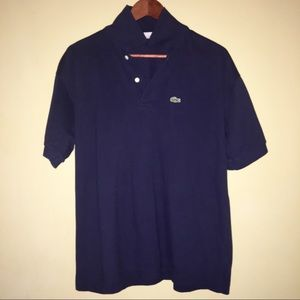 Lacoste La Chemise Polo with Spell-out